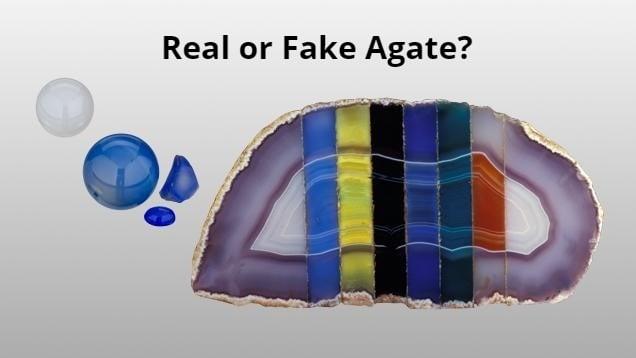Real vs. Fake Agates