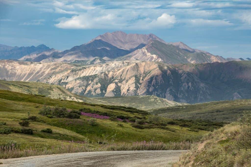 Notable Earthquake Zones - Denali National Park