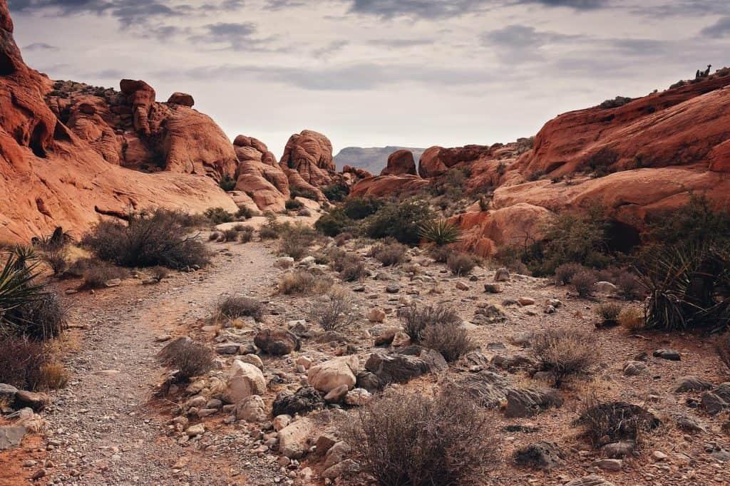 Red Rock Canyon - Rockhounding Location Near Las Vegas