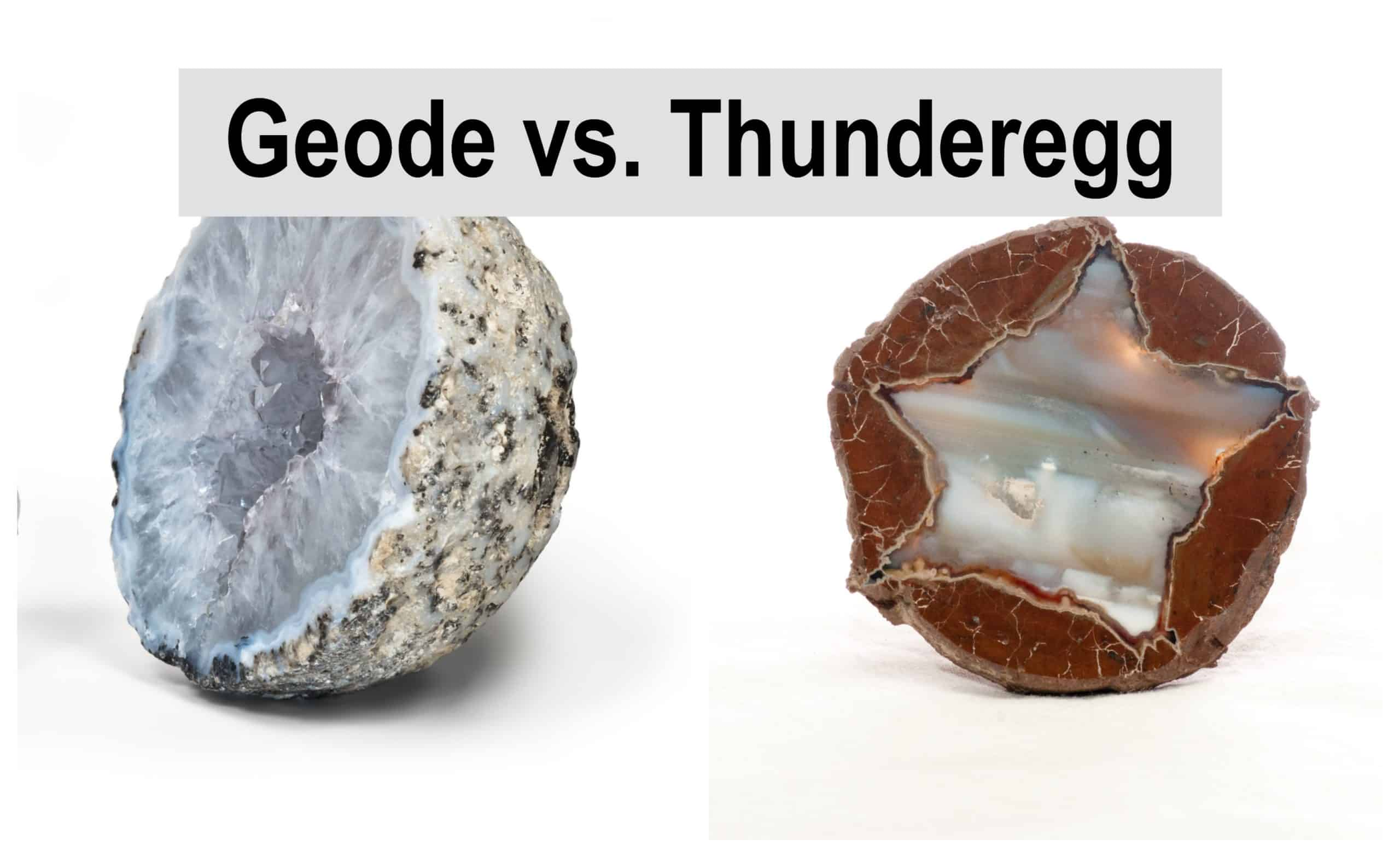 Geode vs. Thunderegg: What is the difference?