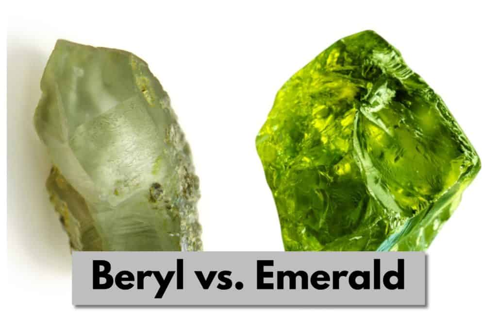Is Beryl the Same As Emerald? The Main Differences Beryl vs. Emerald