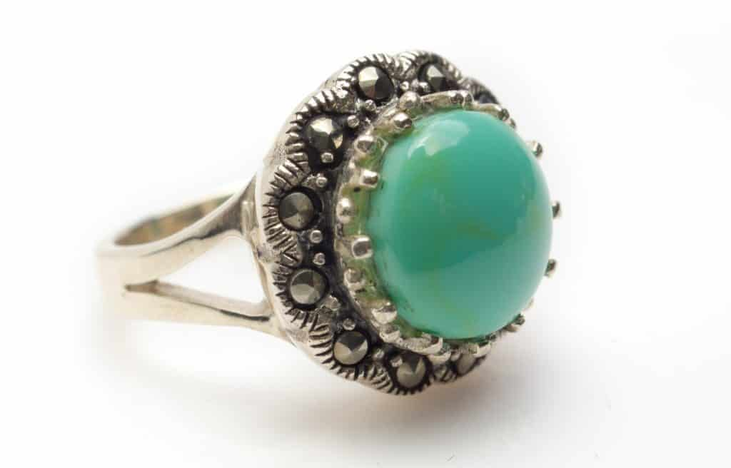 Sterling Valuable Silver Turquoise Ring